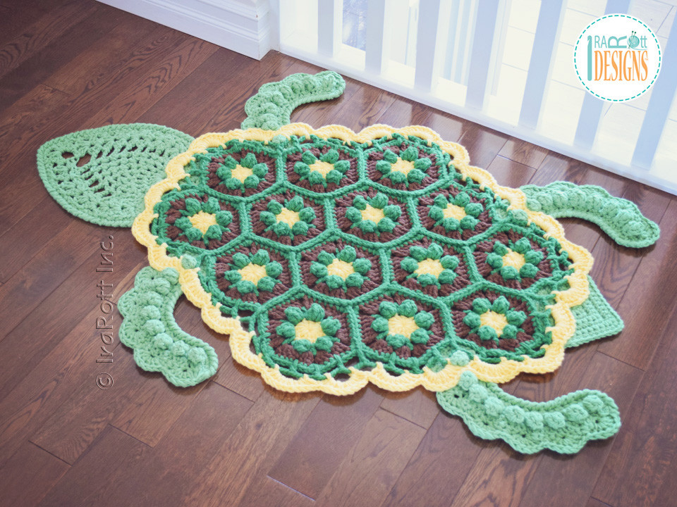 Crochet Turtle Blanket Pattern Elegant Bubbles the Turtle Rug Pdf Crochet Pattern Irarott Inc Of Brilliant 42 Pics Crochet Turtle Blanket Pattern