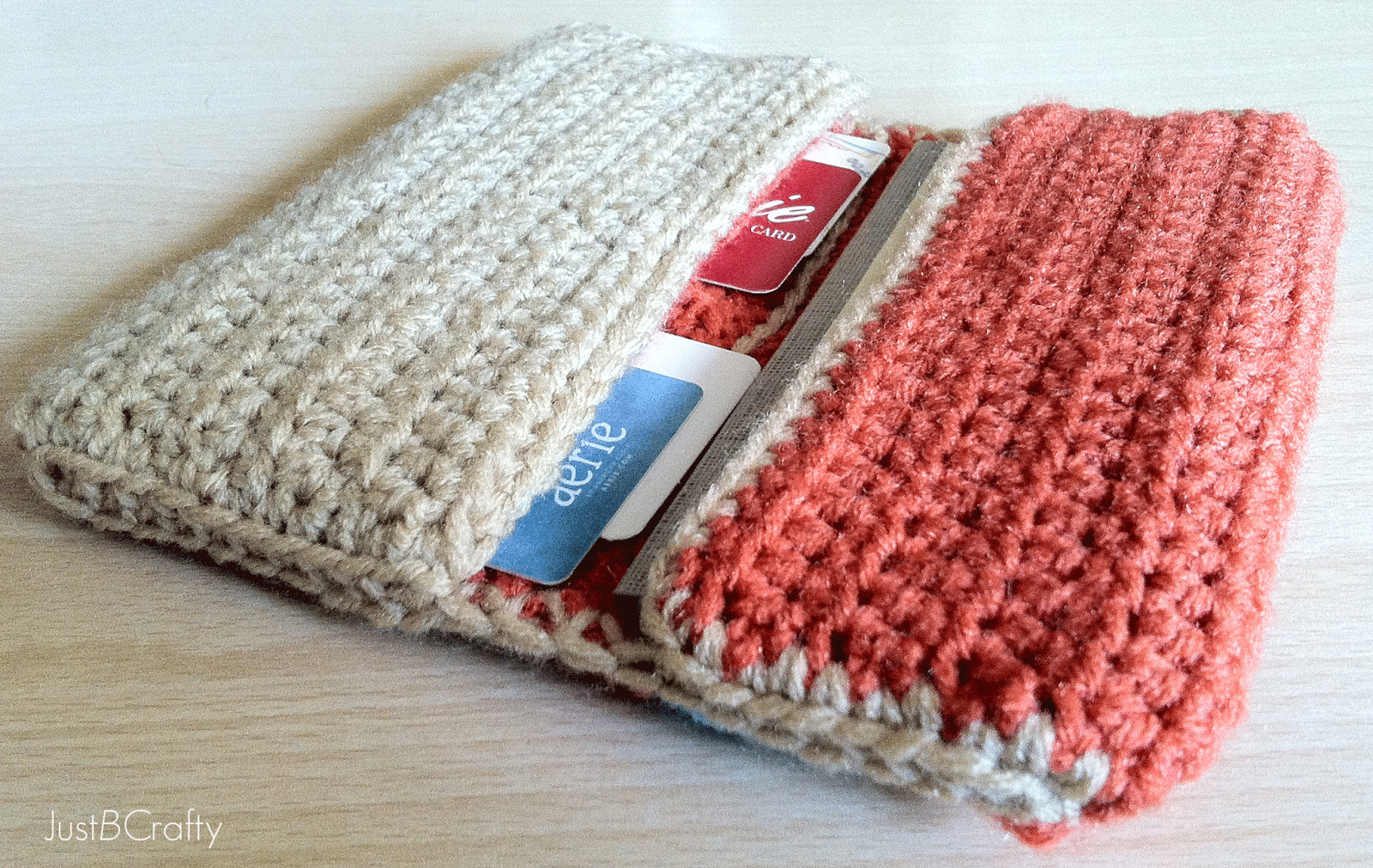 Crochet Wallet Tutorial Just Be Crafty