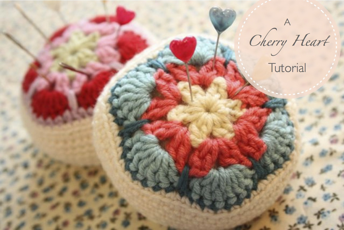 Crochet Tutorial Unique Crocheted African Flower Pincushion Tutorial Of Wonderful 48 Ideas Crochet Tutorial