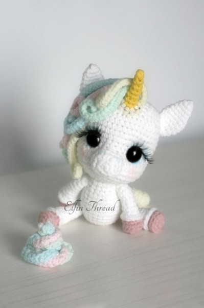 Crochet Unicorn Beautiful Lily Rainbow Cheeks the Chibi Unicorn Amigurumi Pattern Of Charming 42 Pics Crochet Unicorn