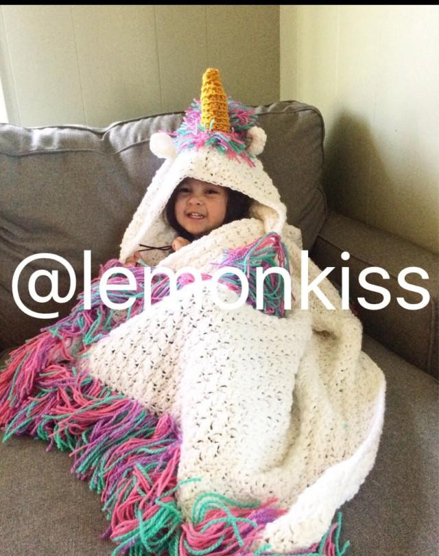 Crochet Unicorn Blanket Best Of Sparkling Hooded Unicorn Blanket Unicorn Blanket Rainbow Of Charming 44 Ideas Crochet Unicorn Blanket