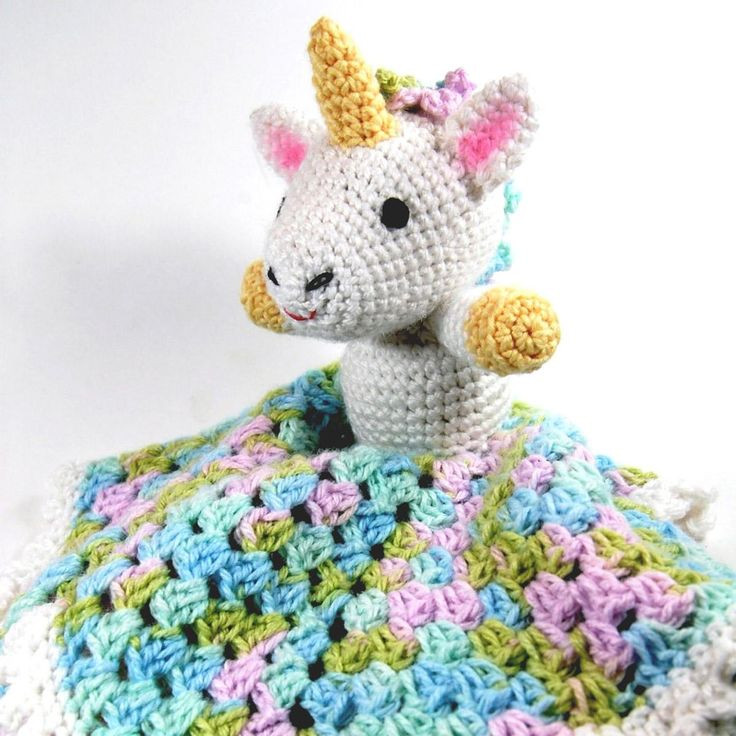 Crochet Unicorn Blanket Fresh 139 Best Lovey Blankets Images On Pinterest Of Charming 44 Ideas Crochet Unicorn Blanket