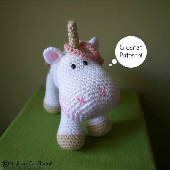 Crochet Unicorn Elegant Crochet Pattern Amigurumi Unicorn Luna Of Charming 42 Pics Crochet Unicorn