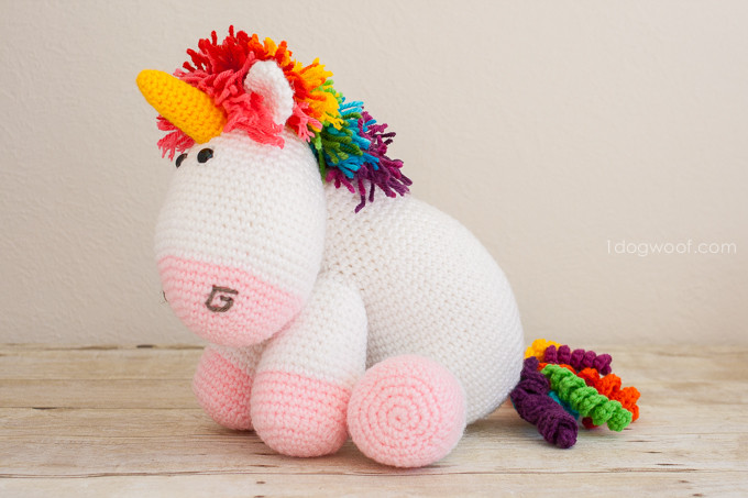 Crochet Unicorn Elegant Rainbow Cuddles Crochet Unicorn Pattern E Dog Woof Of Charming 42 Pics Crochet Unicorn