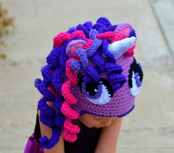 Crochet Unicorn Hat Unique Crochet Unicorn Hat Pony Hat Halloween Hat by Of Delightful 44 Images Crochet Unicorn Hat