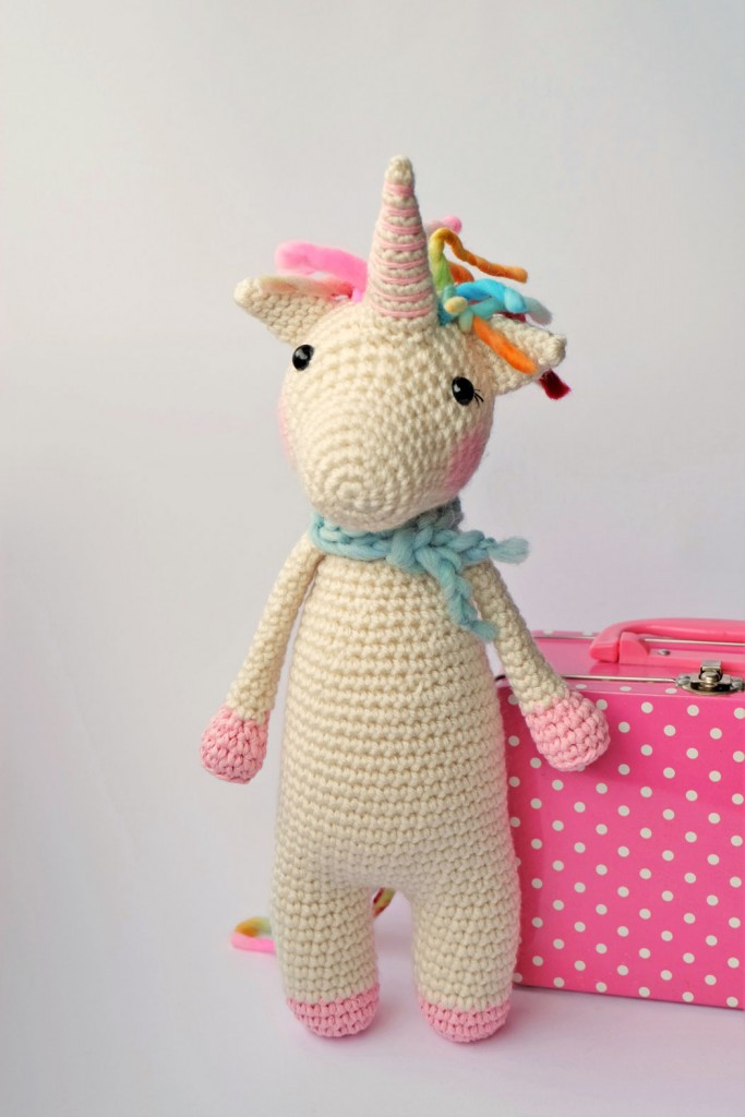 Twinkle Toes the Unicorn Crochet Pattern Hobbycraft Blog