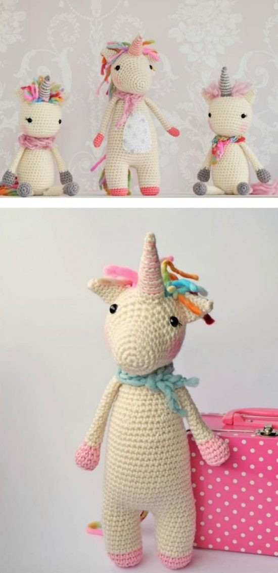 Crochet Unicorn New the Cutest Collection Unicorn Crochet Patterns Of Charming 42 Pics Crochet Unicorn