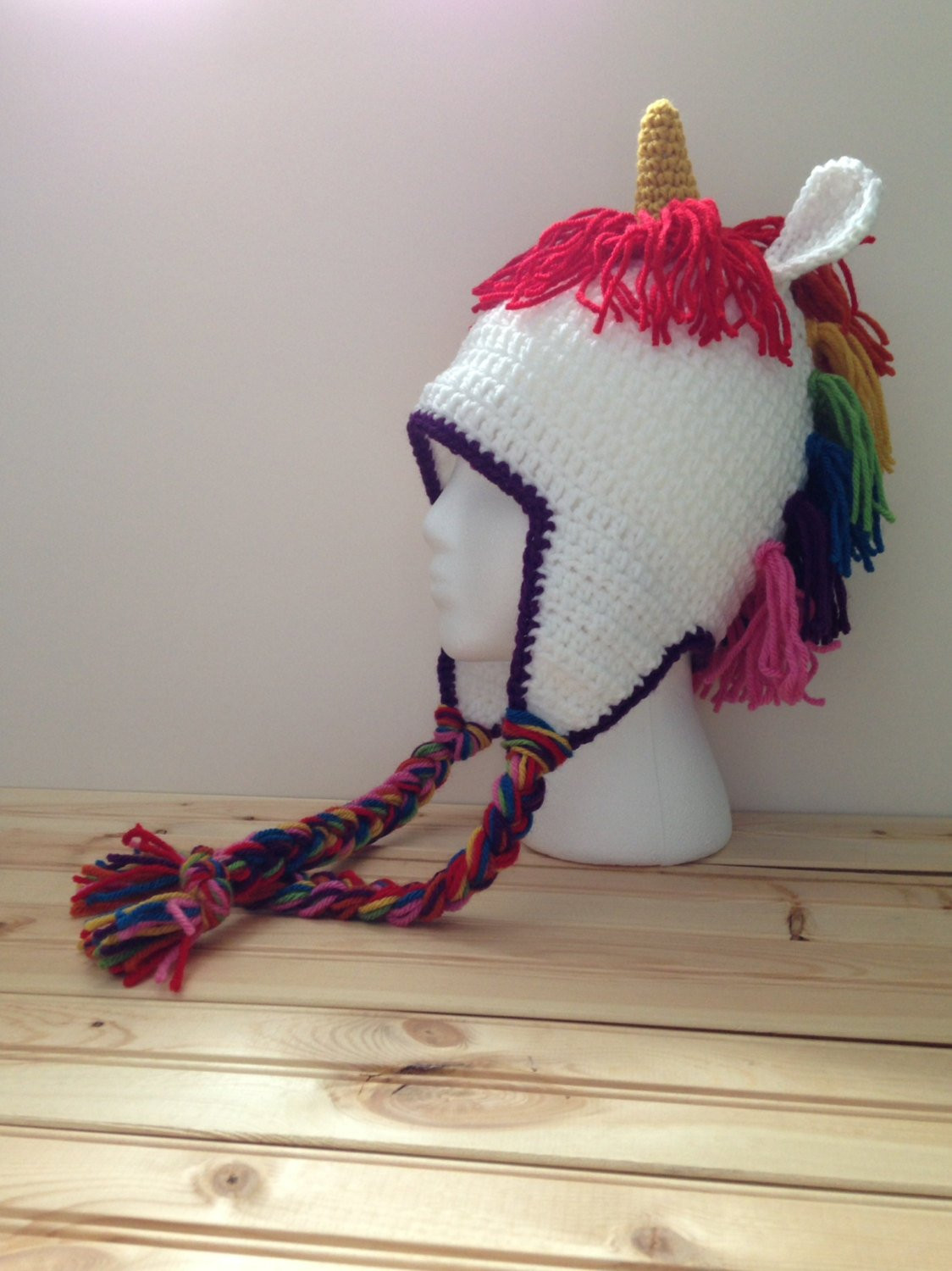 Crochet Unicorn Unique Crochet Rainbow Unicorn Hat Of Charming 42 Pics Crochet Unicorn