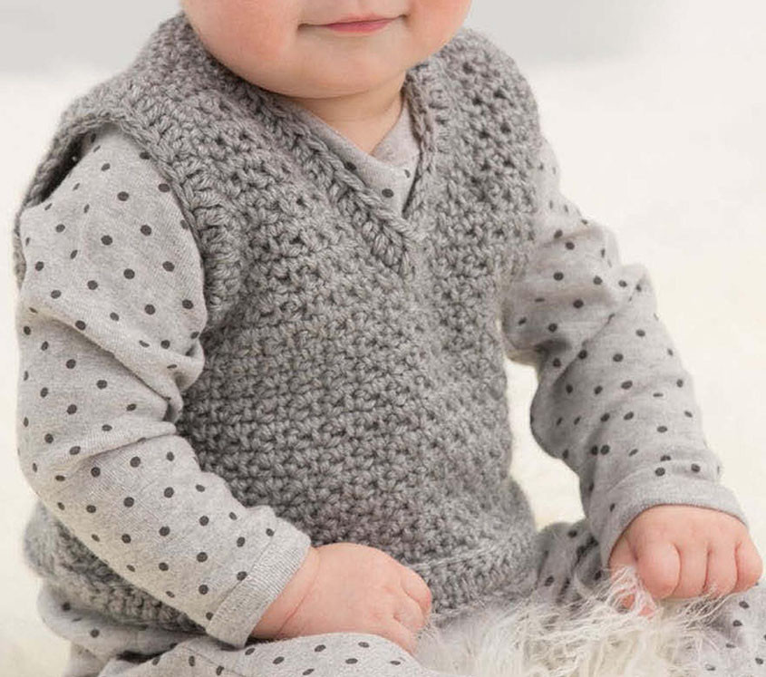 Child vest crochet pattern