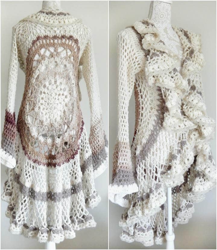 Crochet Vest Pattern Elegant 12 Free Crochet Patterns for Circular Vest Jacket – 101 Of Lovely 47 Models Crochet Vest Pattern