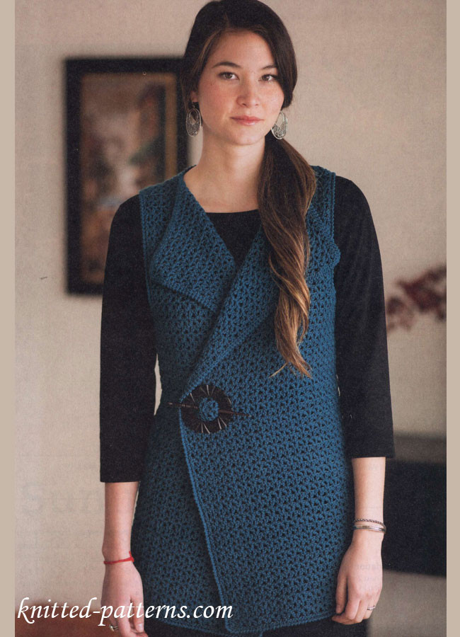 Crochet Vest Pattern Fresh Crochet Vest Free Pattern Of Lovely 47 Models Crochet Vest Pattern