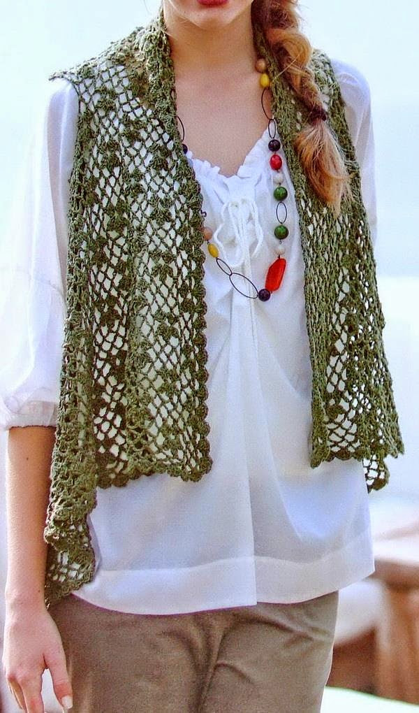 Crochet Vest Pattern Fresh Stylish Easy Crochet Crochet Lace Vest Pattern for Women Of Lovely 47 Models Crochet Vest Pattern