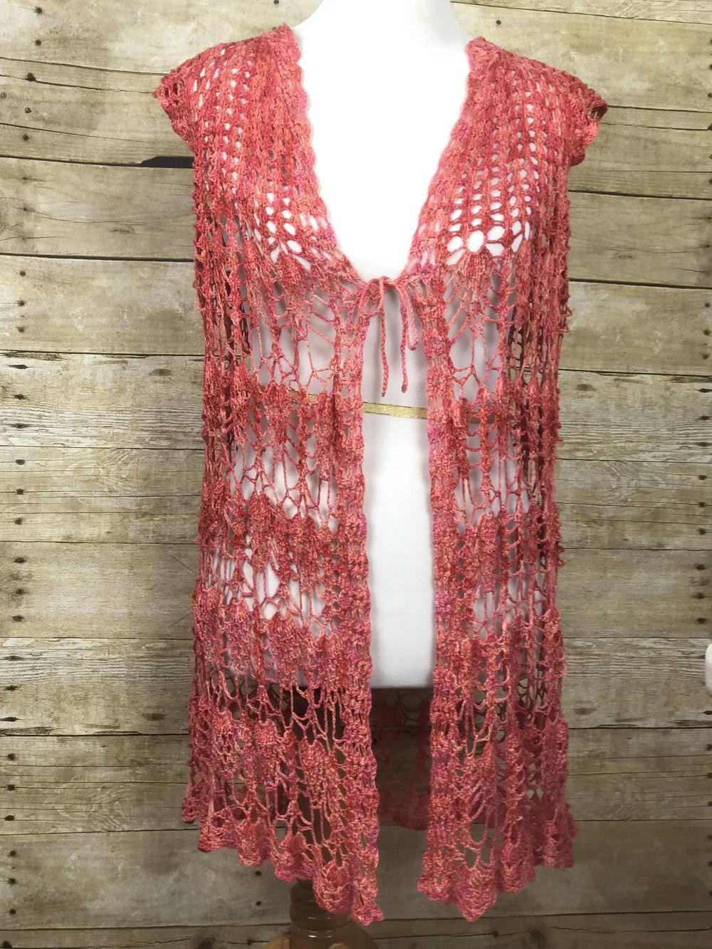Crochet Vest Pattern Fresh Summer Lovin Crochet Vest Of Lovely 47 Models Crochet Vest Pattern
