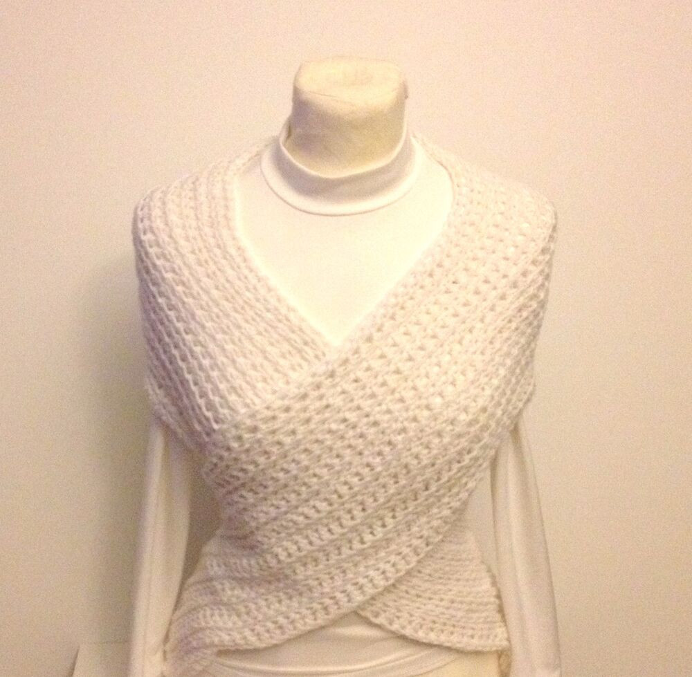 Crochet Vest Pattern Lovely Shawl Cross Vest Capelet Neck Warmer Stole Crochet Of Lovely 47 Models Crochet Vest Pattern