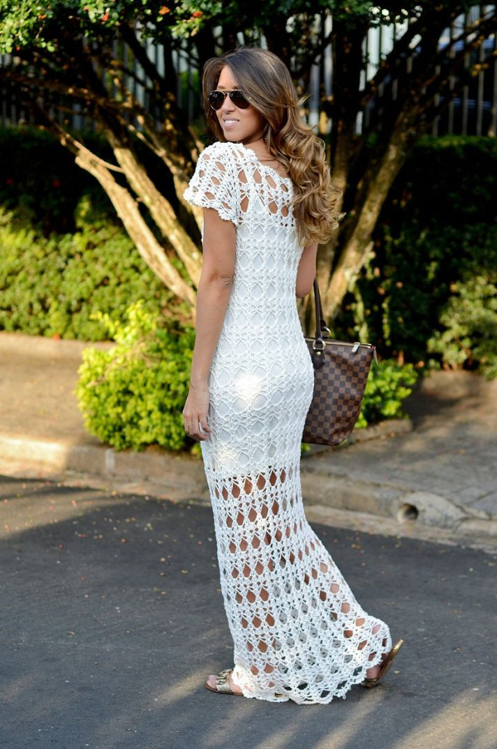 The Crocheted Wedding Dress