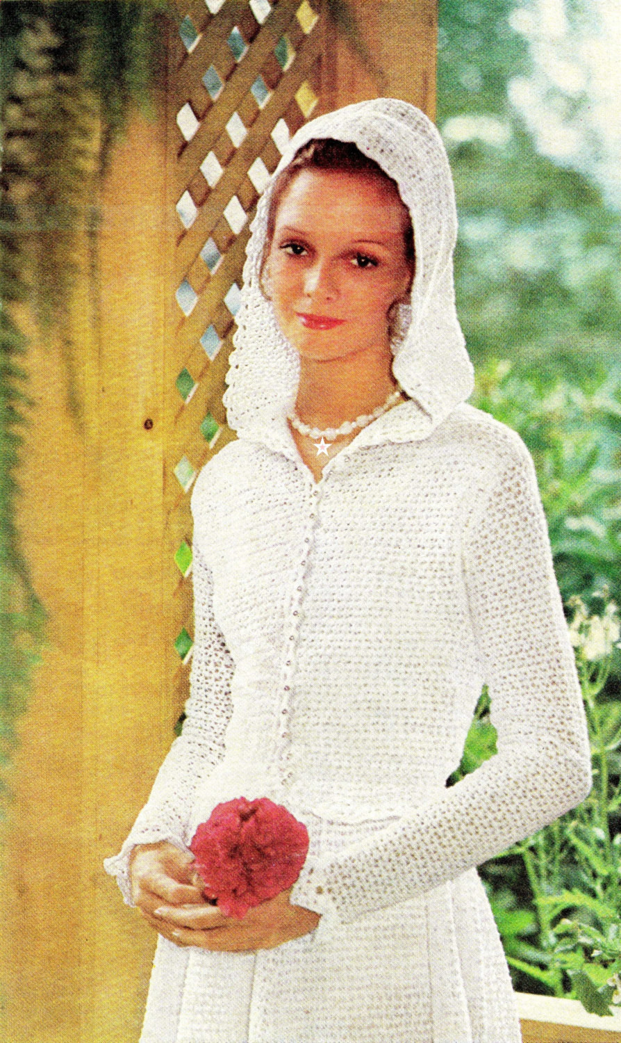 Vintage CROCHET Wedding Dress & Jacket PDF By