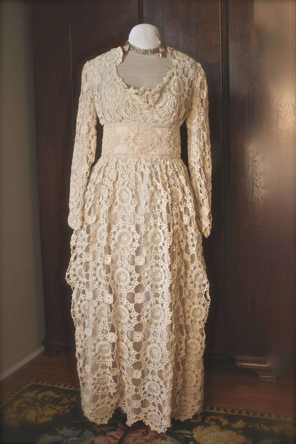 Crochet Wedding Beautiful Antique Crochet Wedding Dress Sale Of Beautiful 41 Pics Crochet Wedding