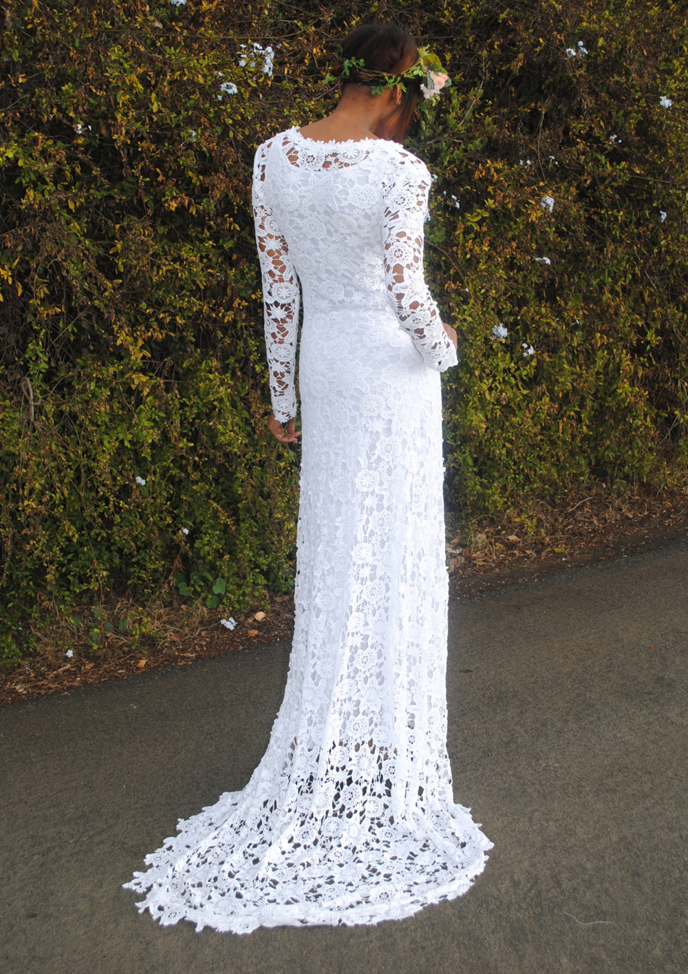 Crochet Wedding Best Of Ivory or White Crochet Lace Bohemian Wedding Dress Of Beautiful 41 Pics Crochet Wedding