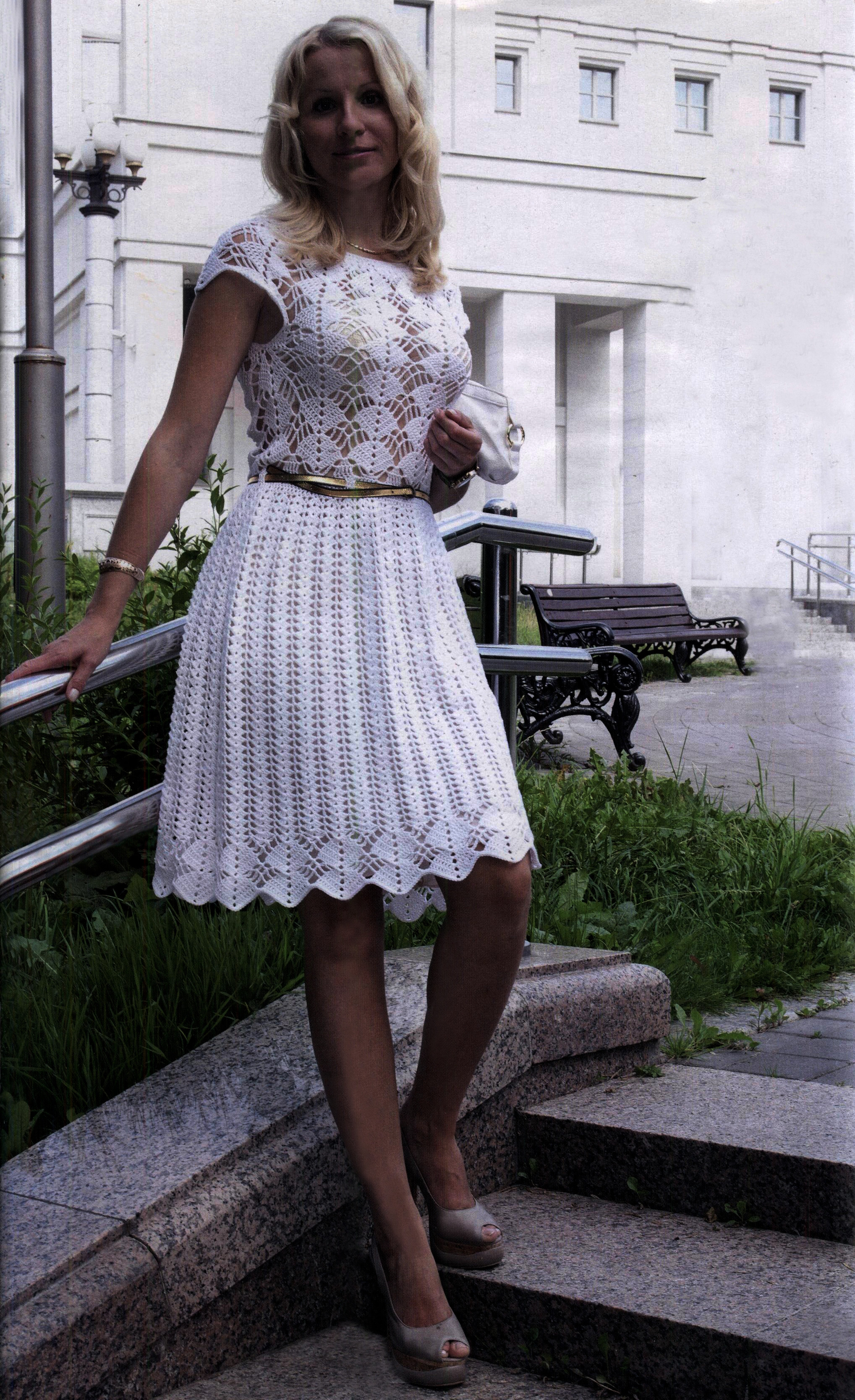Crochet Wedding Dress Pattern Unique Pretty Crocheted Dresses and Skirts for Summer Of Charming 50 Pics Crochet Wedding Dress Pattern
