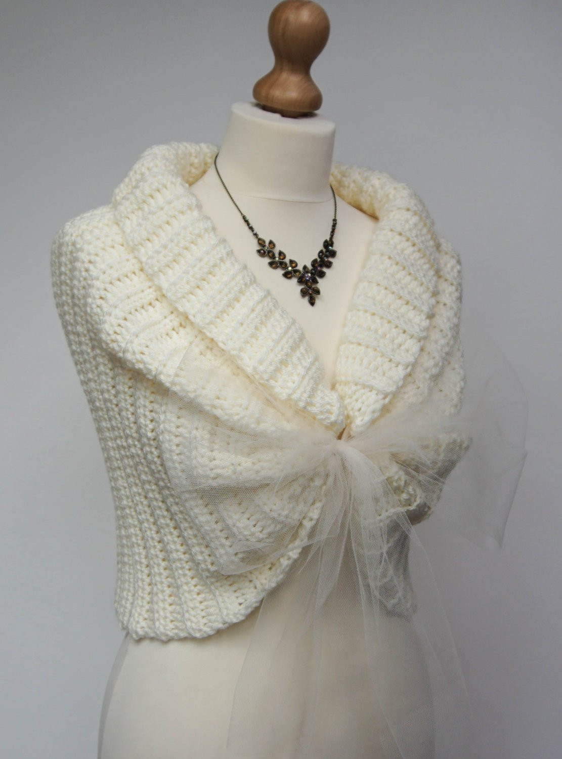 Crochet Wedding Fresh Ivory Bridal Jacket Wedding Crochet Bolero Shrugs for Of Beautiful 41 Pics Crochet Wedding