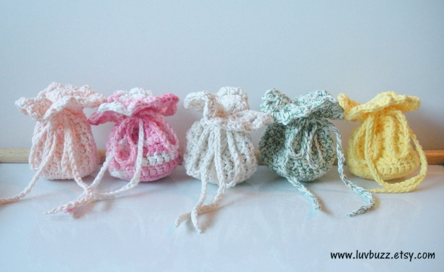 Crochet Wedding Gift Awesome Wedding Favor Bags Crochet Set Of 20 or More Party by Luvbuzz Of Incredible 46 Images Crochet Wedding Gift
