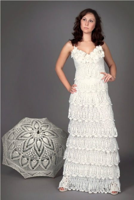 Crochet Wedding Inspirational 12 Crochet Wedding Dresses for Those Summer Weddings Of Beautiful 41 Pics Crochet Wedding