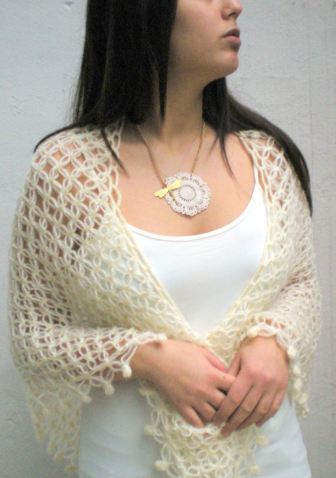 Crochet Wedding Lovely Crochet Bridal Shawl Wrap Shrug Lace Hand Crocheted Mohair Of Beautiful 41 Pics Crochet Wedding