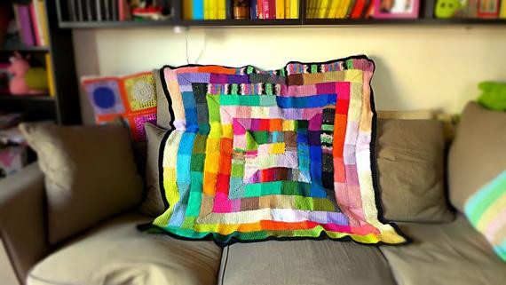 Crochet Weighted Blanket Awesome Art Deco Blanket Crochet Klimt Mondrian Weighted Blanket Throw Of Great 47 Models Crochet Weighted Blanket