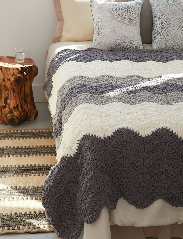 Crochet Weighted Blanket New 172 Best Crochet Ripple Patterns Images On Pinterest Of Great 47 Models Crochet Weighted Blanket