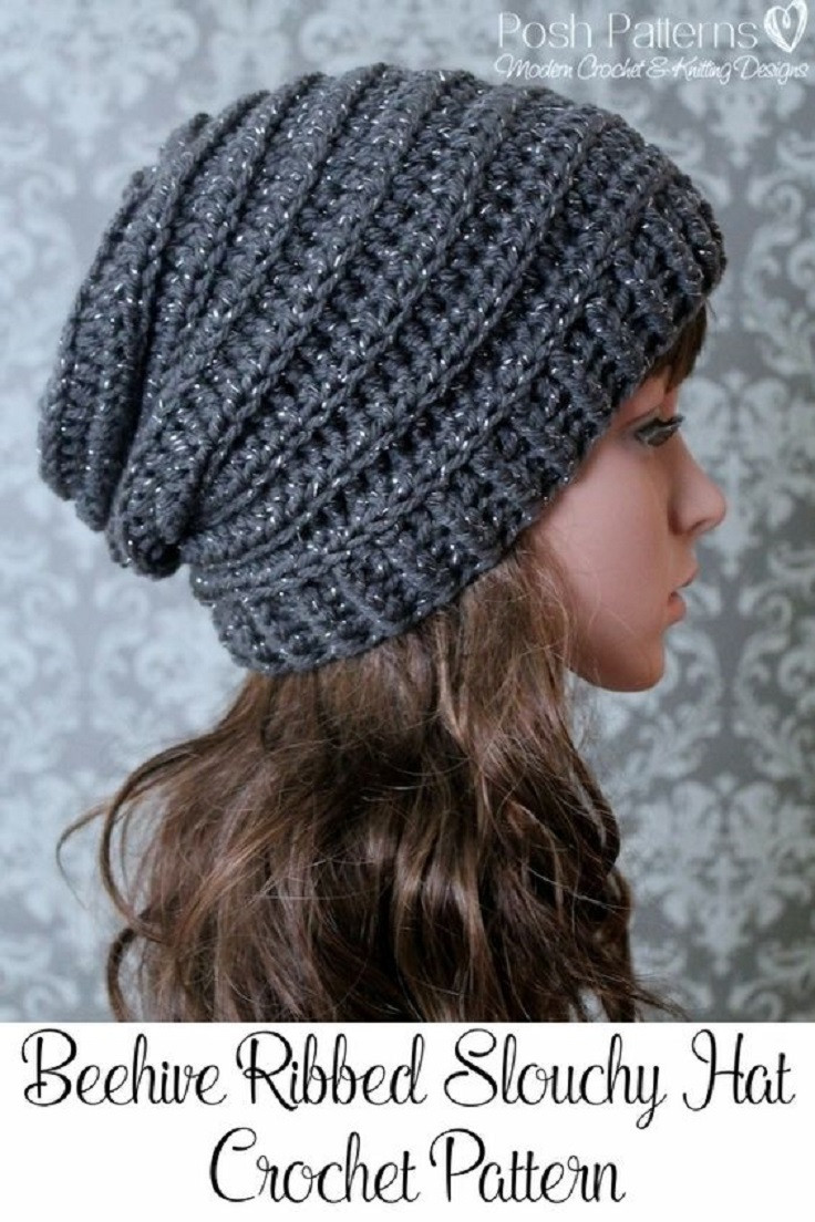 Crochet Winter Hat Pattern Beautiful 15 Easy and Free Crochet Patterns to Stay Warm This Winter Of Attractive 49 Pictures Crochet Winter Hat Pattern
