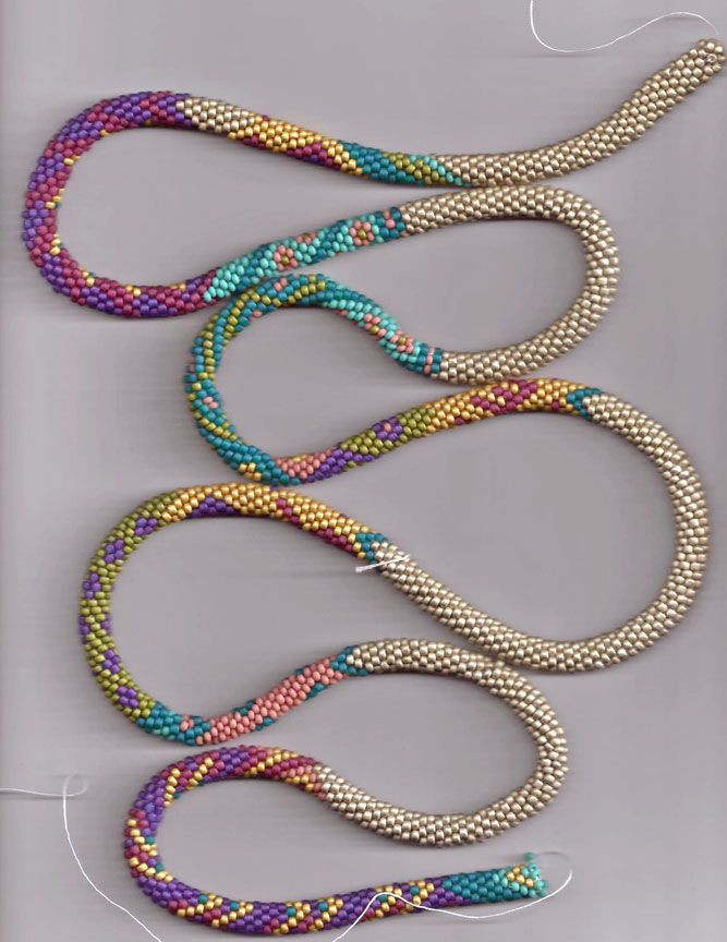 Crochet with Beads Awesome Bead Line Studios Bead Crochet Could Be Used for Tubular Of Amazing 50 Models Crochet with Beads