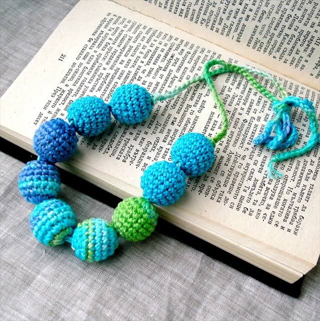 Crochet with Beads Elegant 16 Simple Crochet Necklace Ideas Of Amazing 50 Models Crochet with Beads