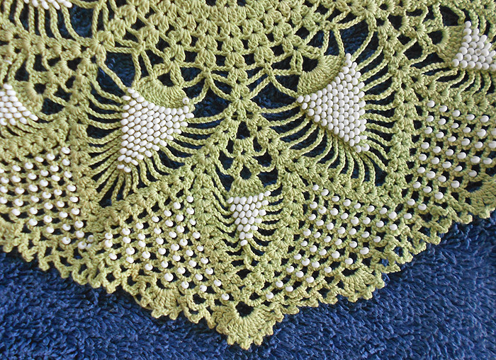 Crochet with Beads New Vintage Beaded Crochet Doily with Over A Thousand Beads Of Amazing 50 Models Crochet with Beads