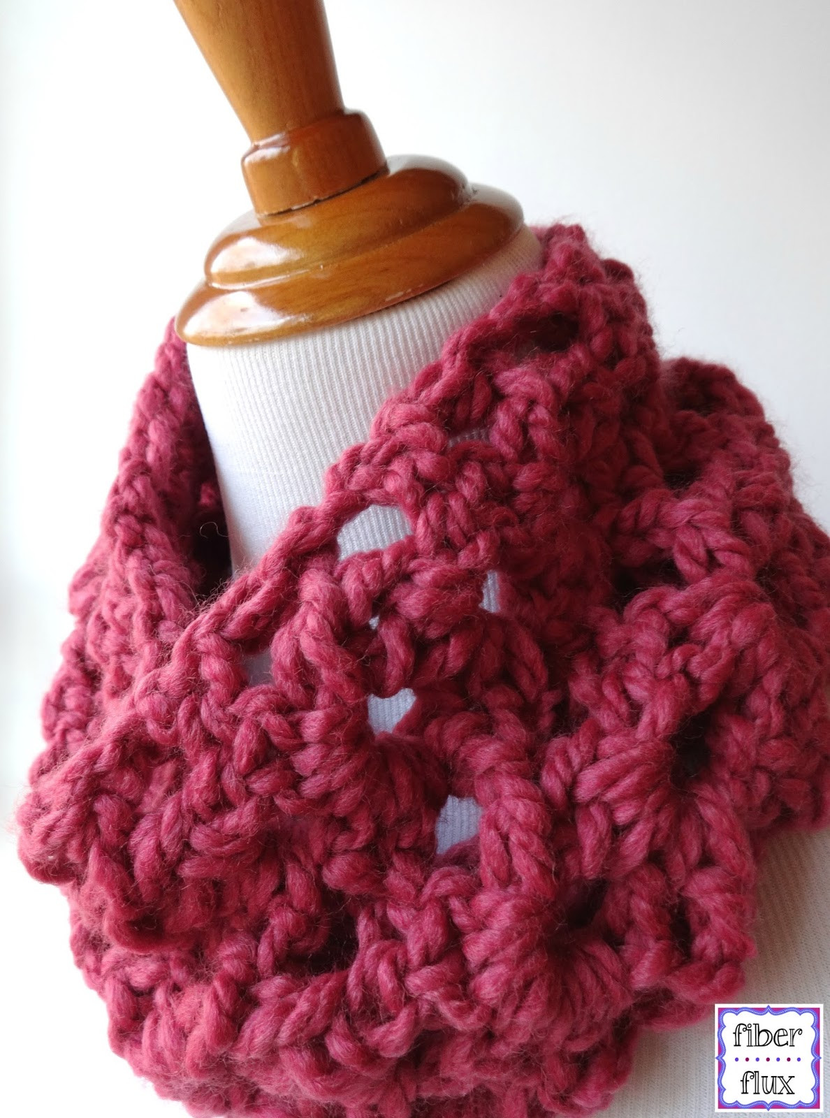 Crochet with Bulky Yarn Luxury Fiber Flux Free Crochet Pattern Agnes Lace Cowl Of Lovely 43 Pics Crochet with Bulky Yarn