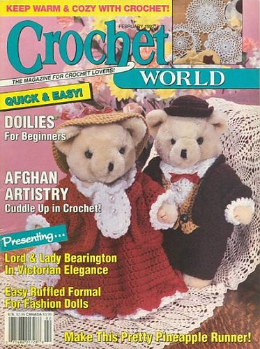 Crochet World Magazines Awesome Ravelry Crochet World Magazine February 1992 Patterns Of Gorgeous 44 Pictures Crochet World Magazines