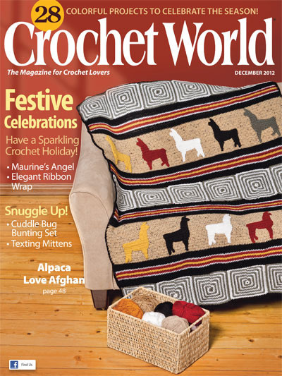 Crochet World Magazines Beautiful Crochet World December 2012 Pdf Magazines Archive Of Gorgeous 44 Pictures Crochet World Magazines
