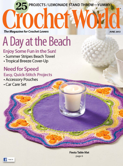 Crochet World Magazines Best Of Crochet World June 2013 Giant Archive Of Able Of Gorgeous 44 Pictures Crochet World Magazines
