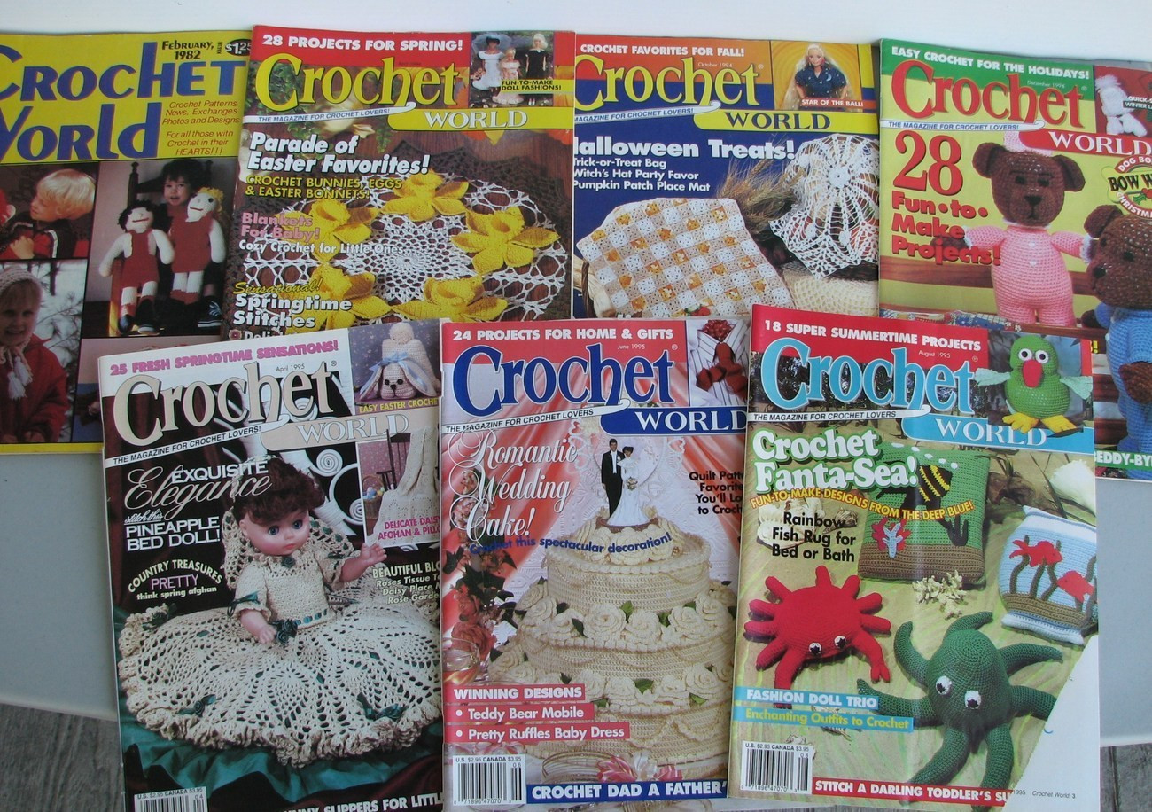Crochet World Magazines Best Of Crochet World Magazine 14 Back issues Patterns Crafts Of Gorgeous 44 Pictures Crochet World Magazines