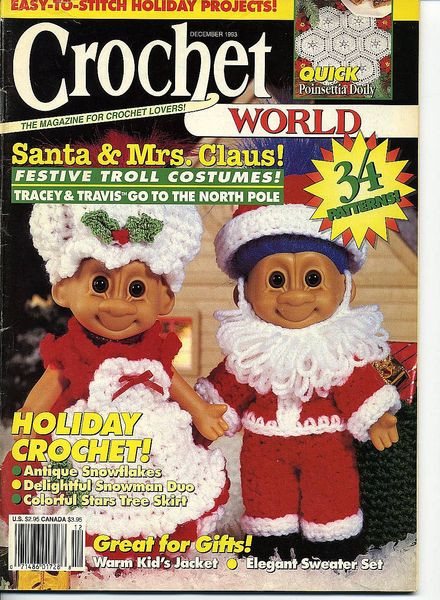 Crochet World Magazines Best Of Download Crochet World – December 1993 Pdf Magazine Of Gorgeous 44 Pictures Crochet World Magazines