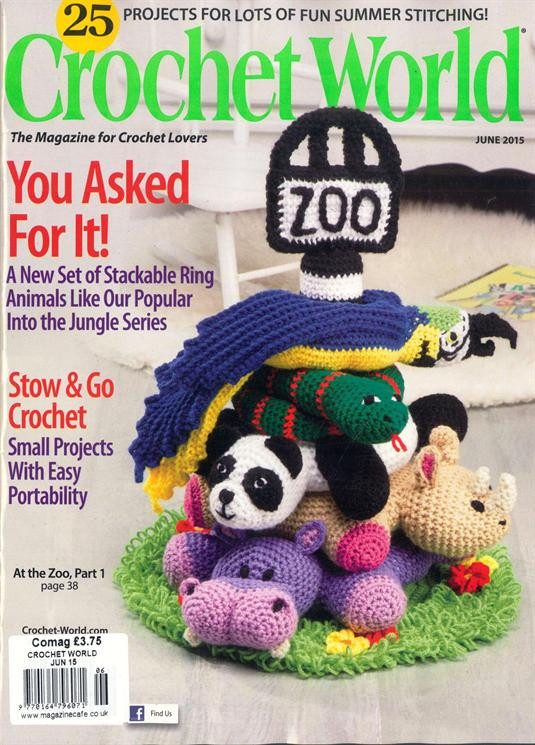 Crochet World Magazines Elegant Crochet World Magazine Subscription Of Gorgeous 44 Pictures Crochet World Magazines