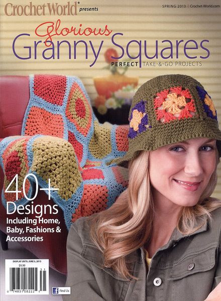 Crochet World Magazines Elegant Download Crochet World – Spring 2013 Pdf Magazine Of Gorgeous 44 Pictures Crochet World Magazines