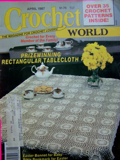 Crochet World Magazines Elegant Vintage Crochet World Magazine Crocheting Patterns 1987 Of Gorgeous 44 Pictures Crochet World Magazines