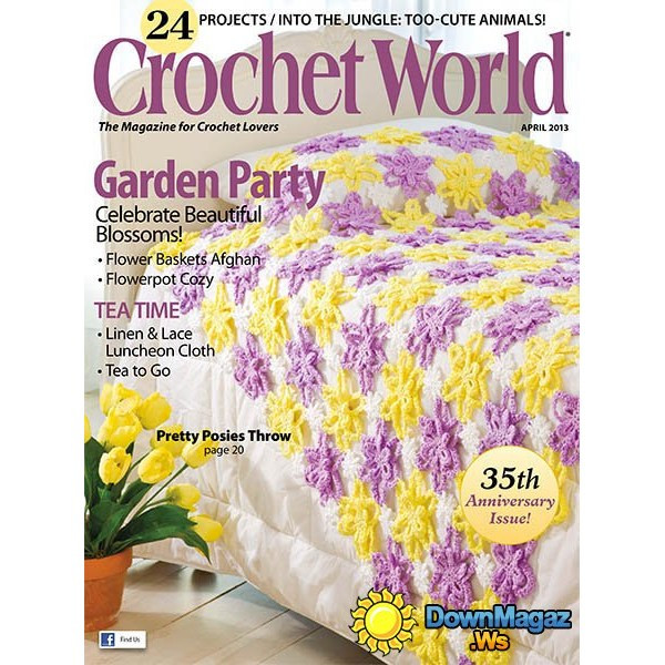 Crochet World Magazines Lovely Crochet World Magazine Subscription Magazinenook Of Gorgeous 44 Pictures Crochet World Magazines