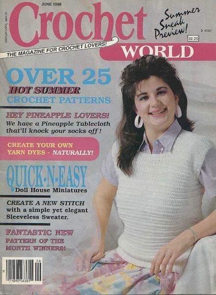 Download Crochet World – June 1988 PDF Magazine