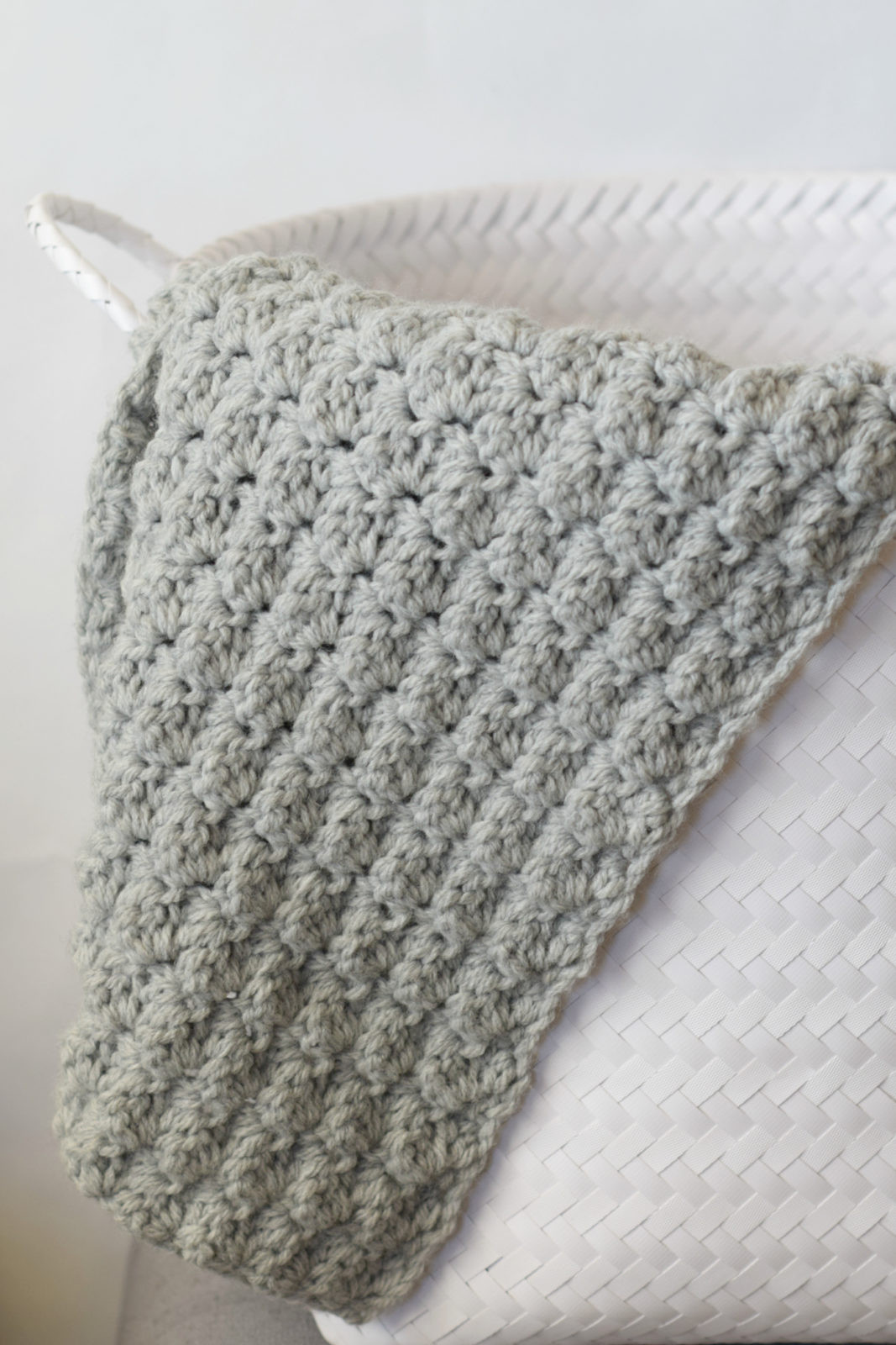 Simple Crocheted Blanket Go To Pattern – Mama In A Stitch