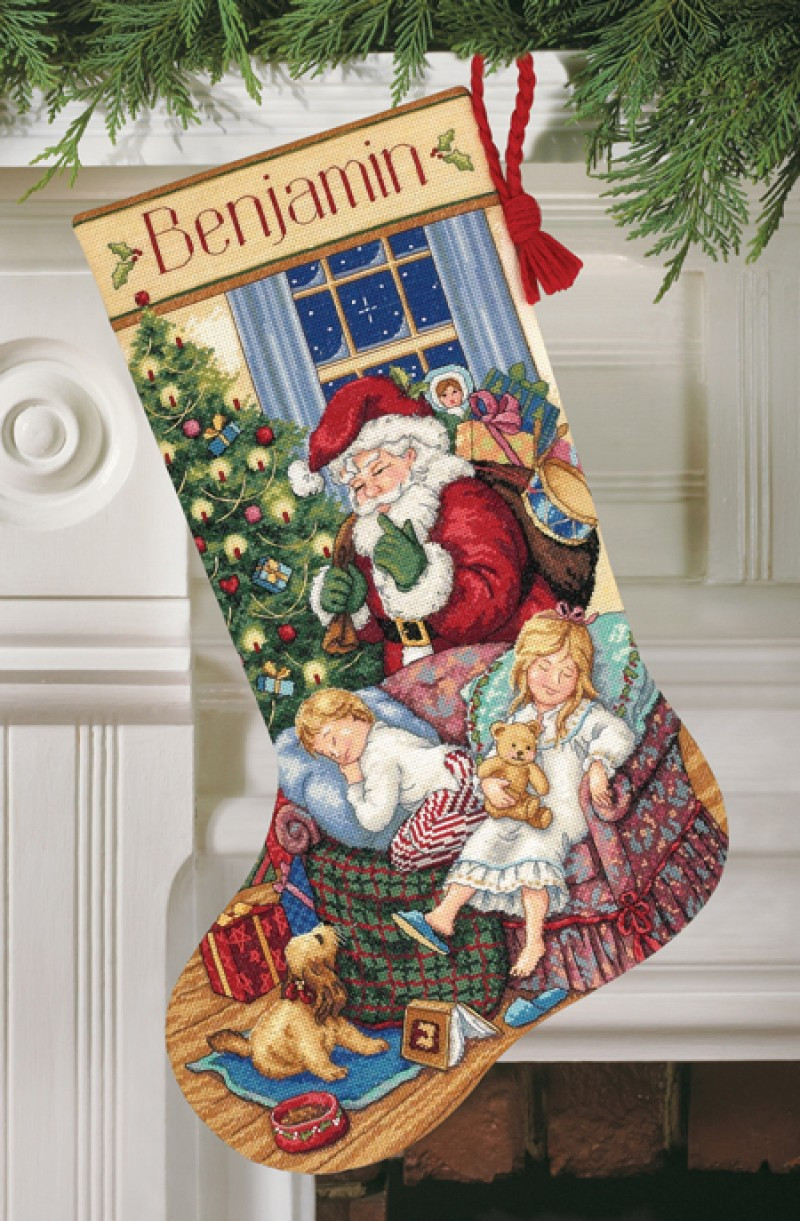 Cross Stitch Christmas Stocking Beautiful Sweet Dreams Stockings Cross Stitch Christmas Stocking Kit Of New 46 Photos Cross Stitch Christmas Stocking