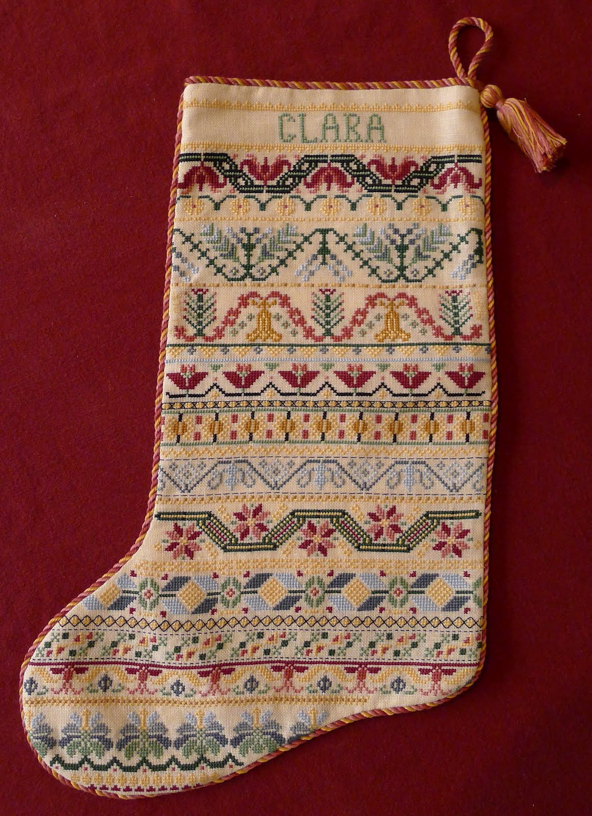 Cross Stitch Christmas Stocking Best Of Palace Of Leaves Three Cross Stitched Christmas Stockings Of New 46 Photos Cross Stitch Christmas Stocking