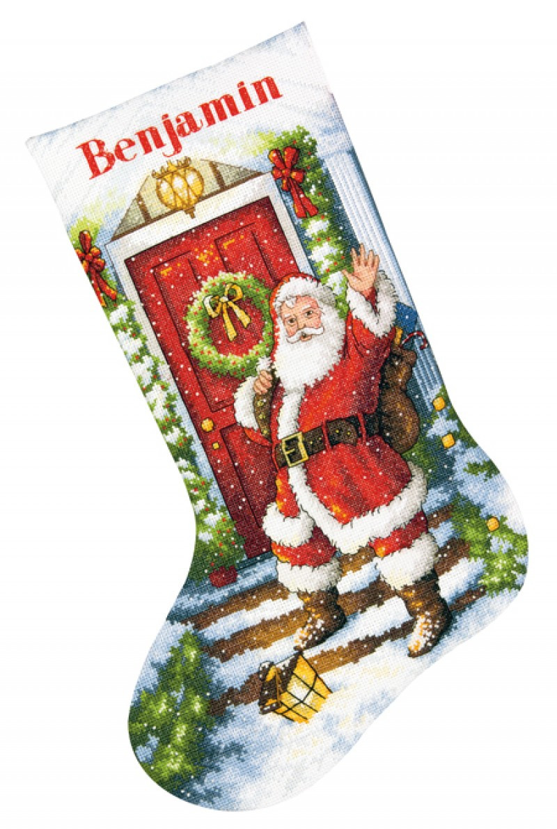 Cross Stitch Christmas Stocking Best Of Wel E Santa Cross Stitch Christmas Stocking Kit Of New 46 Photos Cross Stitch Christmas Stocking