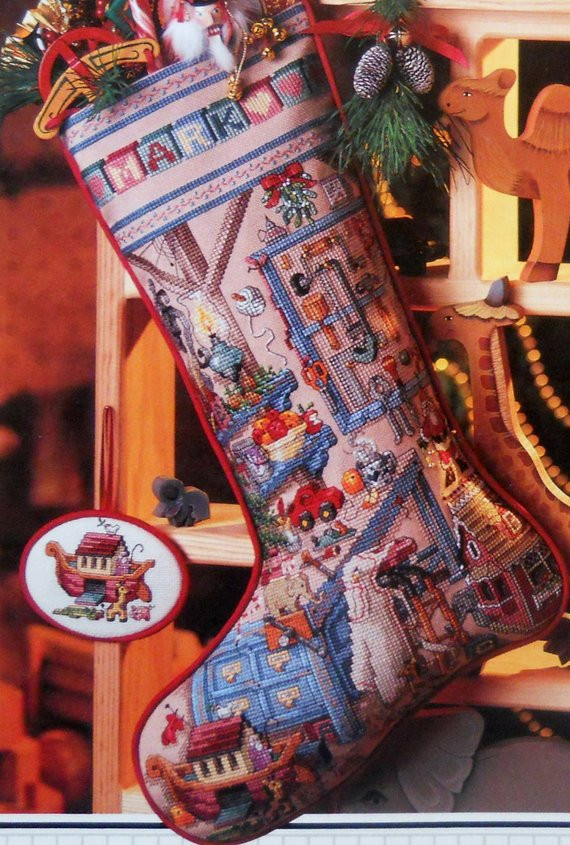 Cross Stitch Christmas Stocking Elegant Better Homes & Gardens Holiday Workshop Heirloom Christmas Of New 46 Photos Cross Stitch Christmas Stocking