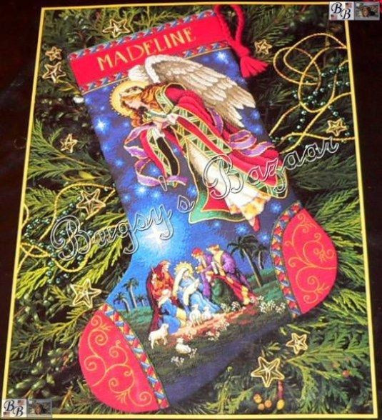 Cross Stitch Christmas Stocking Fresh Dimensions Gold Heavenly Angel Magi Counted Cross Stitch Of New 46 Photos Cross Stitch Christmas Stocking